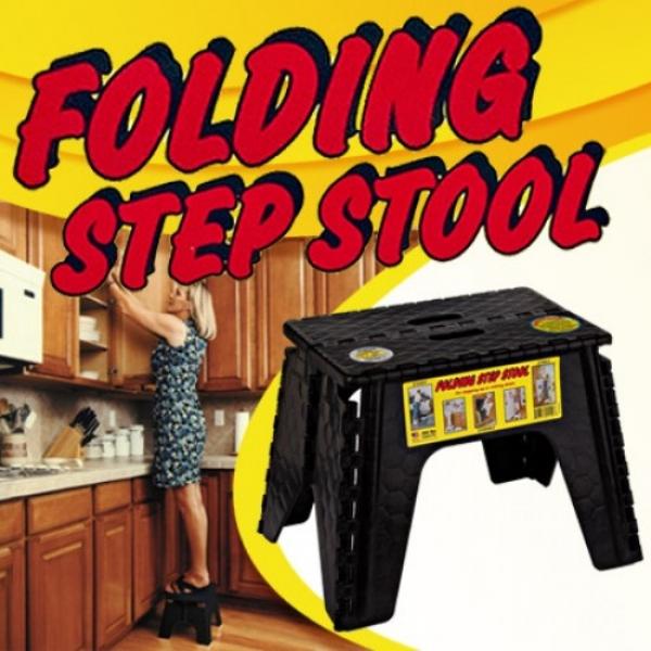 Ez Foldz Folding Step Stool 12 Inches As Seen On Tv
