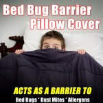 Bed Bug Barrier Pillow Cover