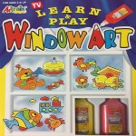 Learn and Play Window Art Kit