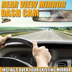 Rear View Mirror Cam