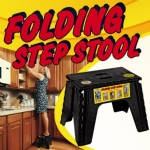 EZ Foldz Folding Step Stool 12 inches