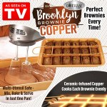 Brooklyn Brownie Copper Pan