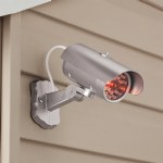 Silver Mock Security Camera