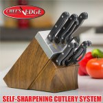 Self Sharpening Knife Block Set
