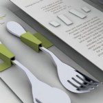 KNORK 2 Piece Child Flatware Set