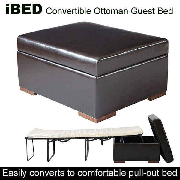 Enjoyable Ibed Convertible Ottoman Guest Bed Cjindustries Chair Design For Home Cjindustriesco