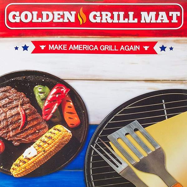 Golden Grill Mat