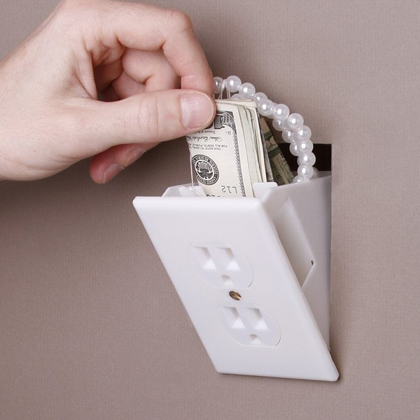 Hidden Wall Safe Outlet