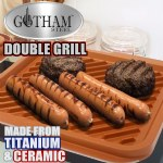 Gotham Steel Double Grill