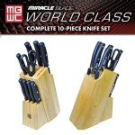 Miracle Blade World Class Series 10 Piece Set