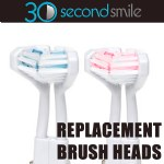 30 Second Smile Standard Brush Heads