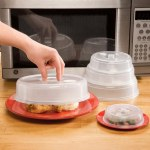 Vented Microwave Plate Covers