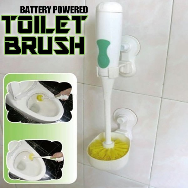 Battery Powered Toilet Brush