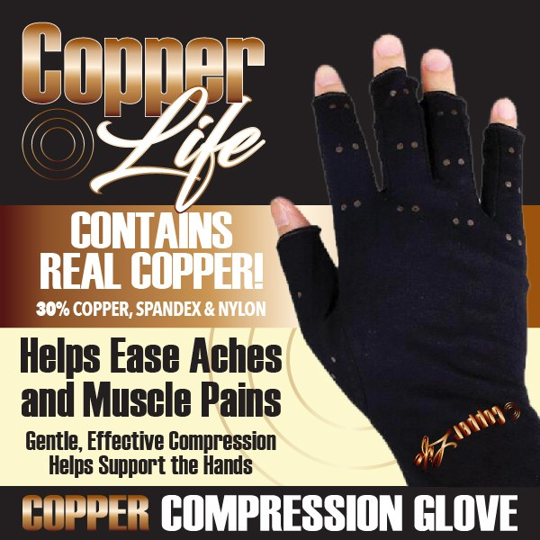 Copper Life Compression Glove