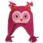 Pink Glitter Critter Owl Hat