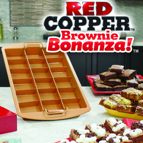 Red Copper Brownie Bonanza