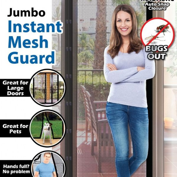 Jumbo Instant Mesh Screen Guard
