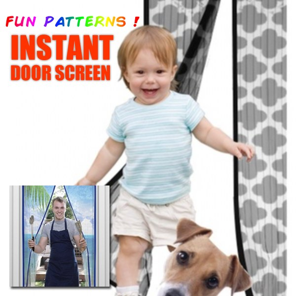 Decorative Instant Door Screen