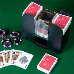 6 Deck Card Shuffler