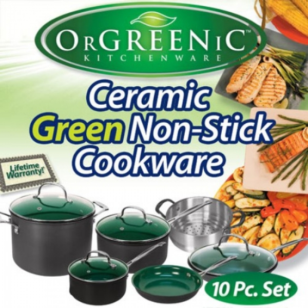 Orgreenic 10 piece Set