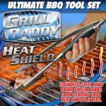 Grill Daddy Heat Shield Barbecue Tool Set