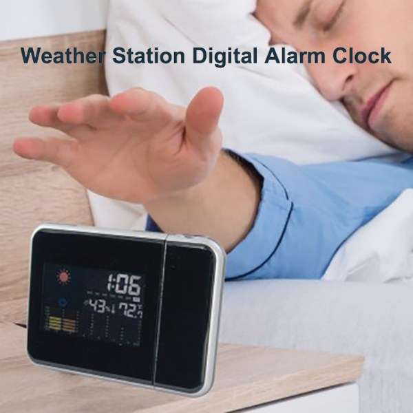 Weather Station Digital Alarm Clock