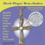 The Lords Prayer Cross Necklace