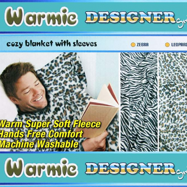 Warmie- Cozy Blanket with Sleeves