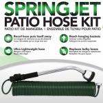 Spring Jet Coiled Hose