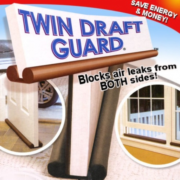 Twin Draft Guard  Insulating Device