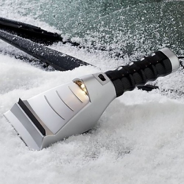 Heated Auto Ice Scraper