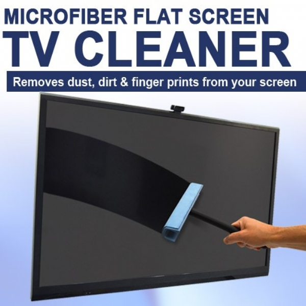 Microfiber Flat Screen TV Cleaner