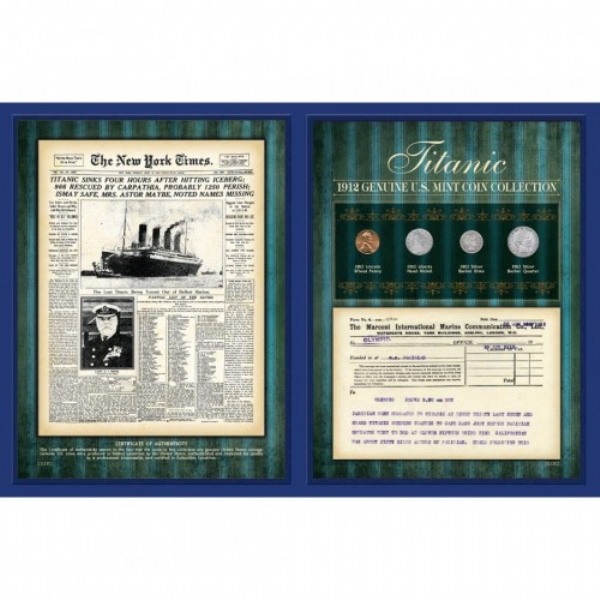 Titanic 1912 Coin Collection