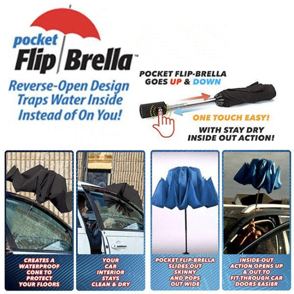 Flip Pocket Brella