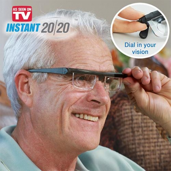 Instant 20 20 Adjustable Glasses