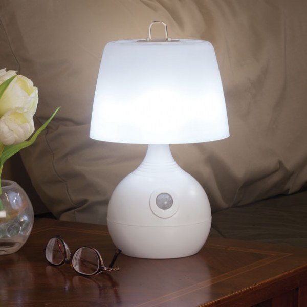 Motion Sensing LED Lamp