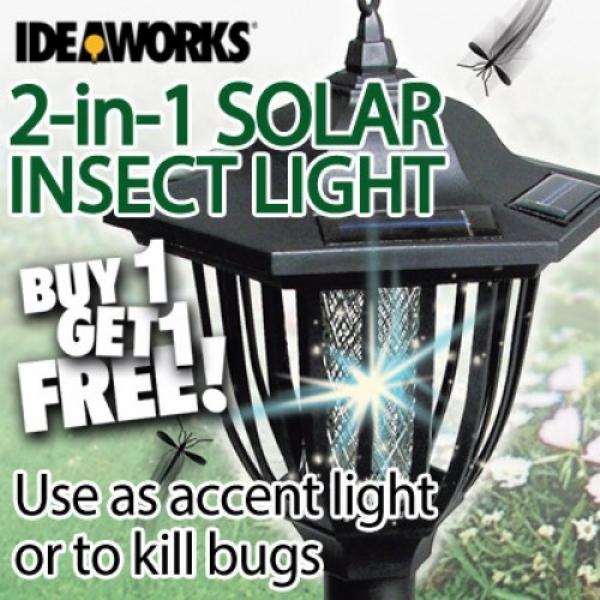 2-in-1 Solar Insect Light