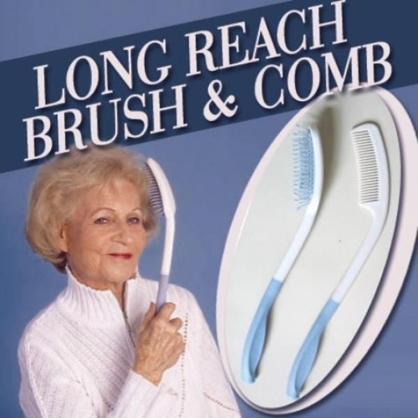 Long Reach Brush and Comb Set