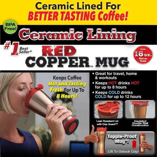 Red Copper Mug