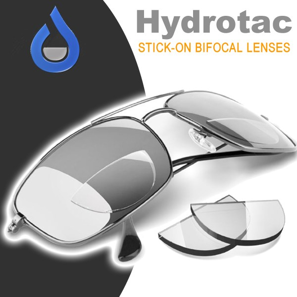 Hydrotac Stick on Bifocal Lenses