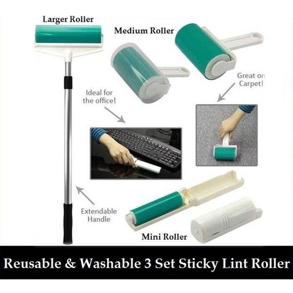 Sticky Lint Roller Set