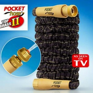Pocket Hose Top Brass II