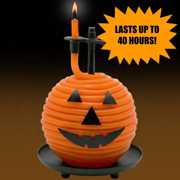 Candle by the Hour Halloween Candle