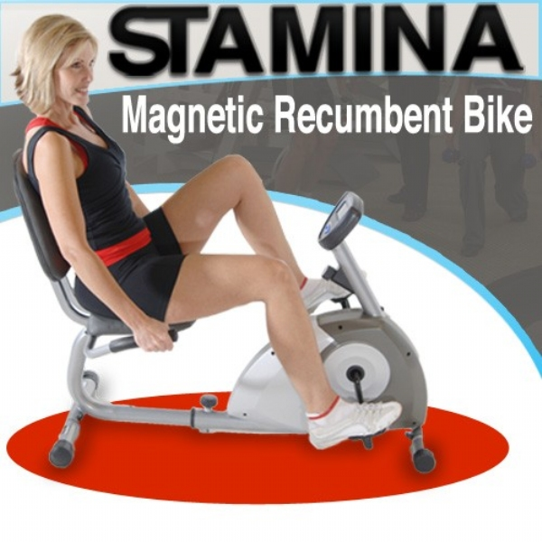 Stamina Magnetic Recumbent Bike