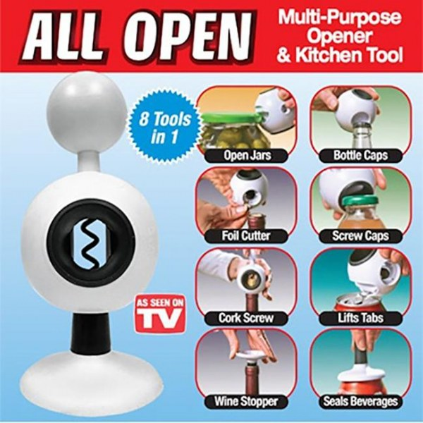 All Open Multi-Purpose Opener & Kitchen Tool