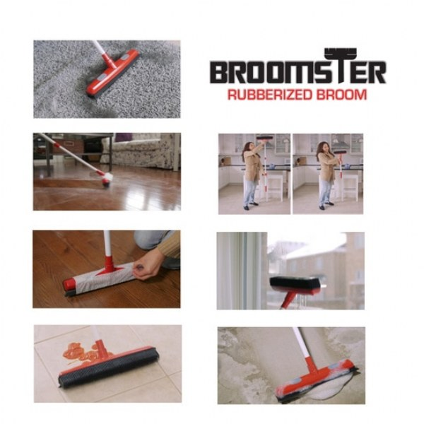 Broomster - Rubberized Broom