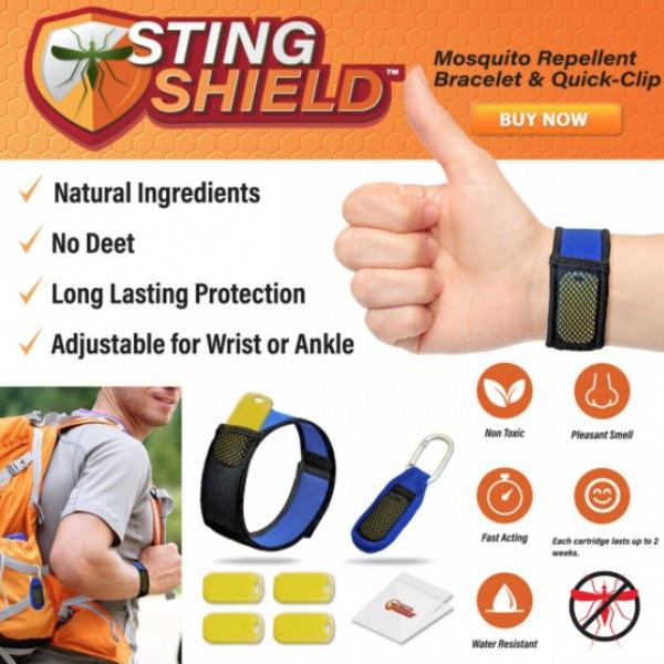 Sting Shield Mosquito Repellent
