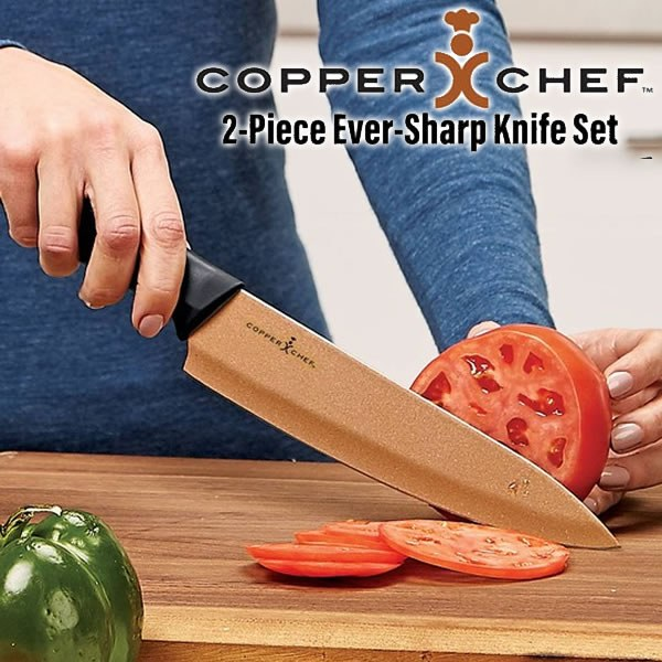 Copper Chef Knife Set As Seen On Tv