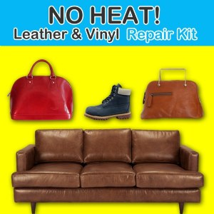 Deluxe No Heat Leather Vinyl Repair Kit
