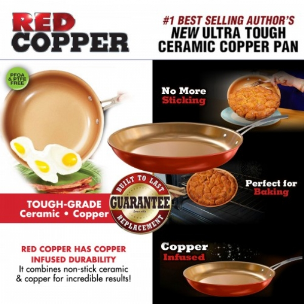 Red Copper Pan